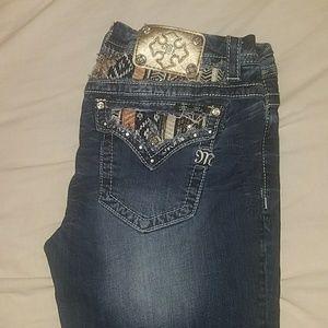 Denim Blue Miss Me Jeans